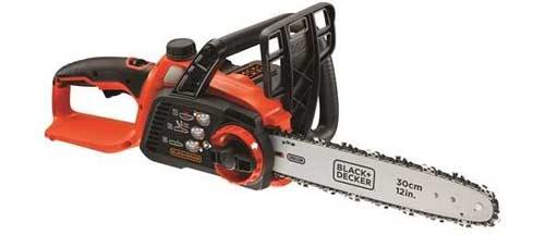 motosega batteria black-decker-gkc3630