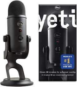 microfono pc professionale blue yeti