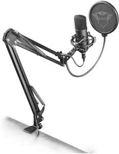 microfono pc usb trust