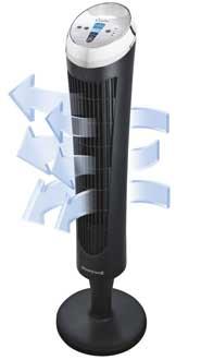 Honeywell HY-254E ventilatore silenzioso